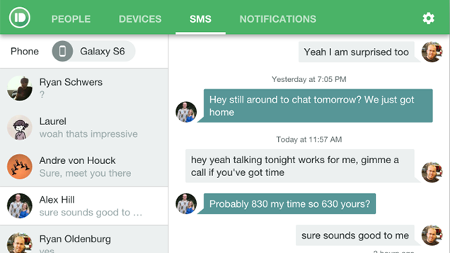 Pushbullet Adds a Full SMS Client For Texting From the Desktop