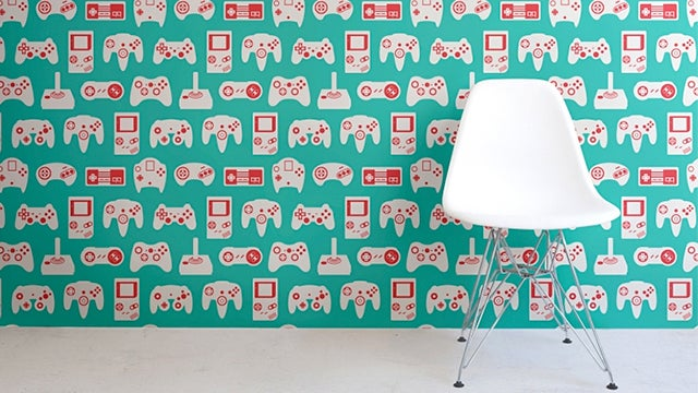 Cover Everything In Your Home With These Retro Video Game Wallpapers