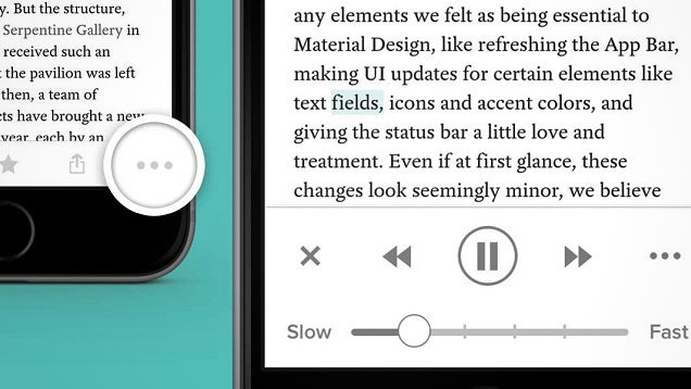 Pocket on iOS Finally Lets You Listen to Articles with Text-to-Speech