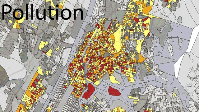 This Map Shows The Frightening Overlap Between Pollution and Poverty