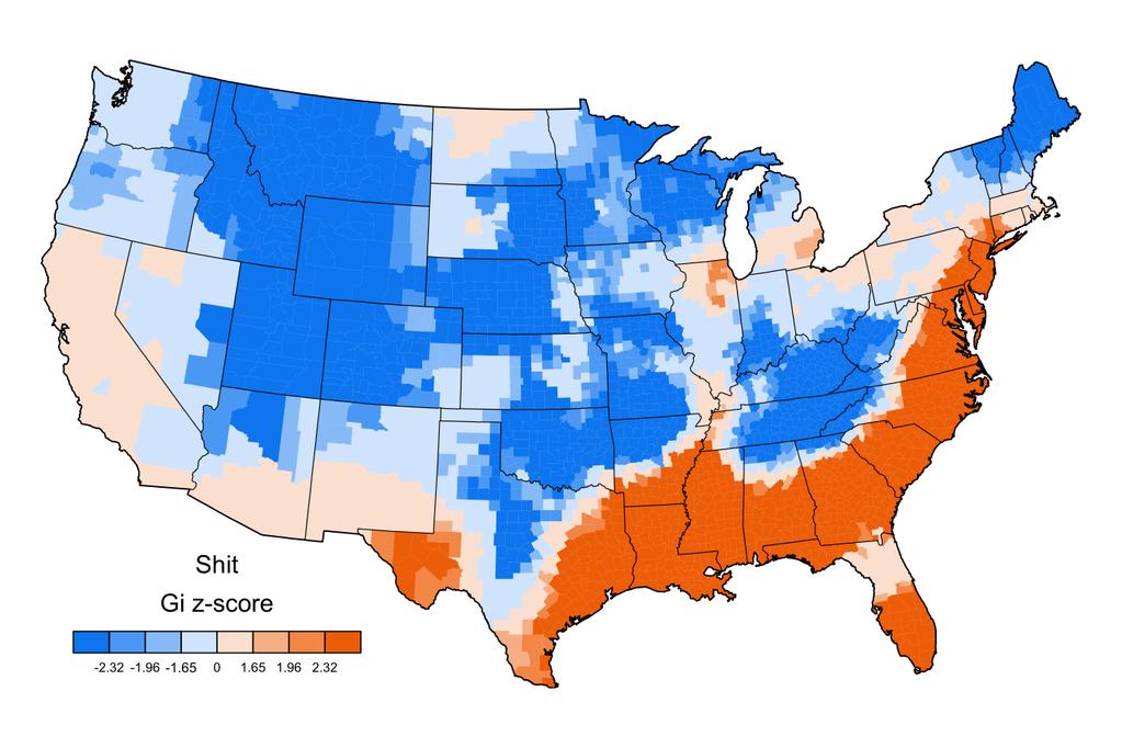 How People Swear Across the U.S., Mapped