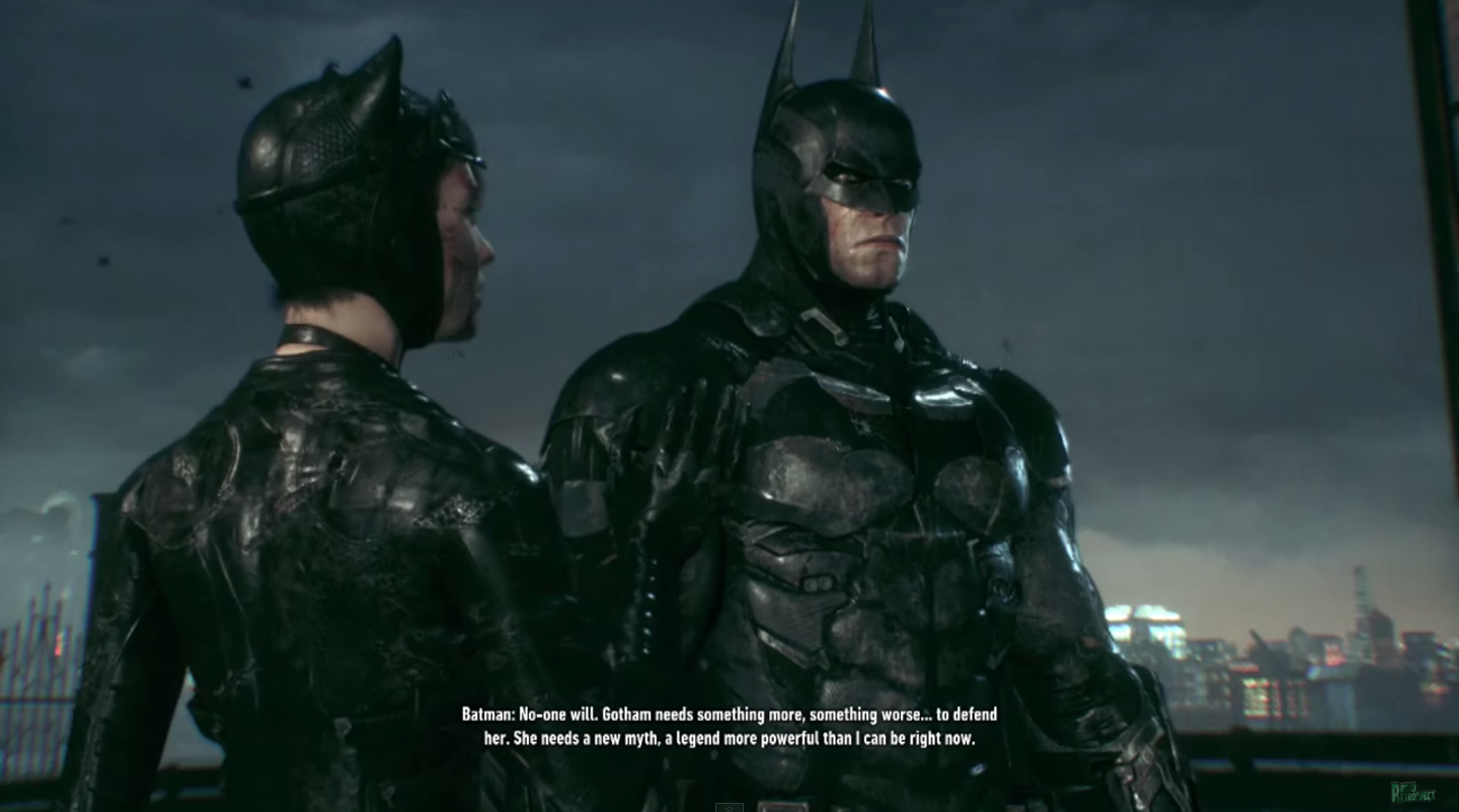 What's Really Happening in Arkham Knight's True Ending