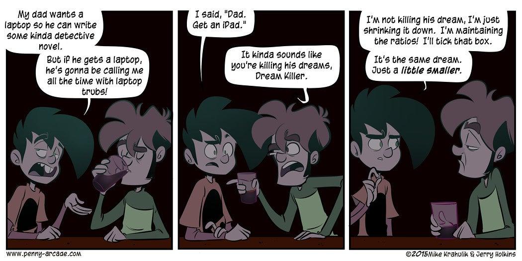 Sunday Comics: It's Not Easy
