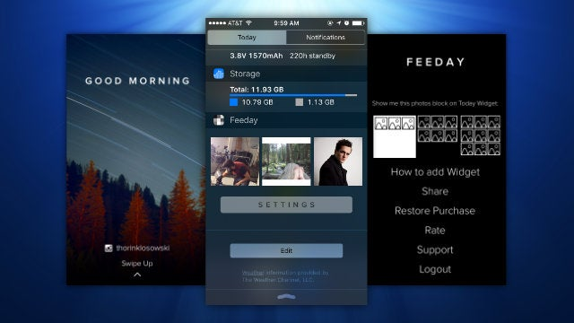 Feeday Puts Your Instagram Feed In Your iPhone's Notification Center