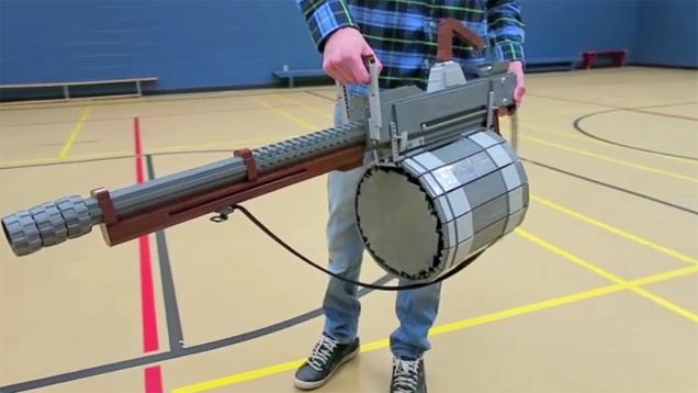 Team Fortress 2's Beloved Minigun, Remade With LEGO Bricks