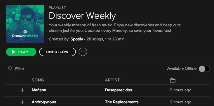 Spotify's New
