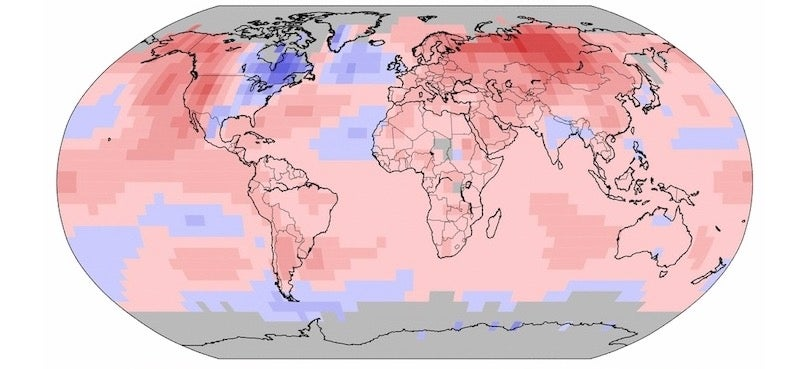 Remember When 2014 Was the Hottest Year On Record? Now 2015 Is.