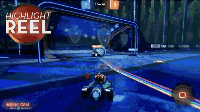 Go In The Damn Goal, Rocket League Ball