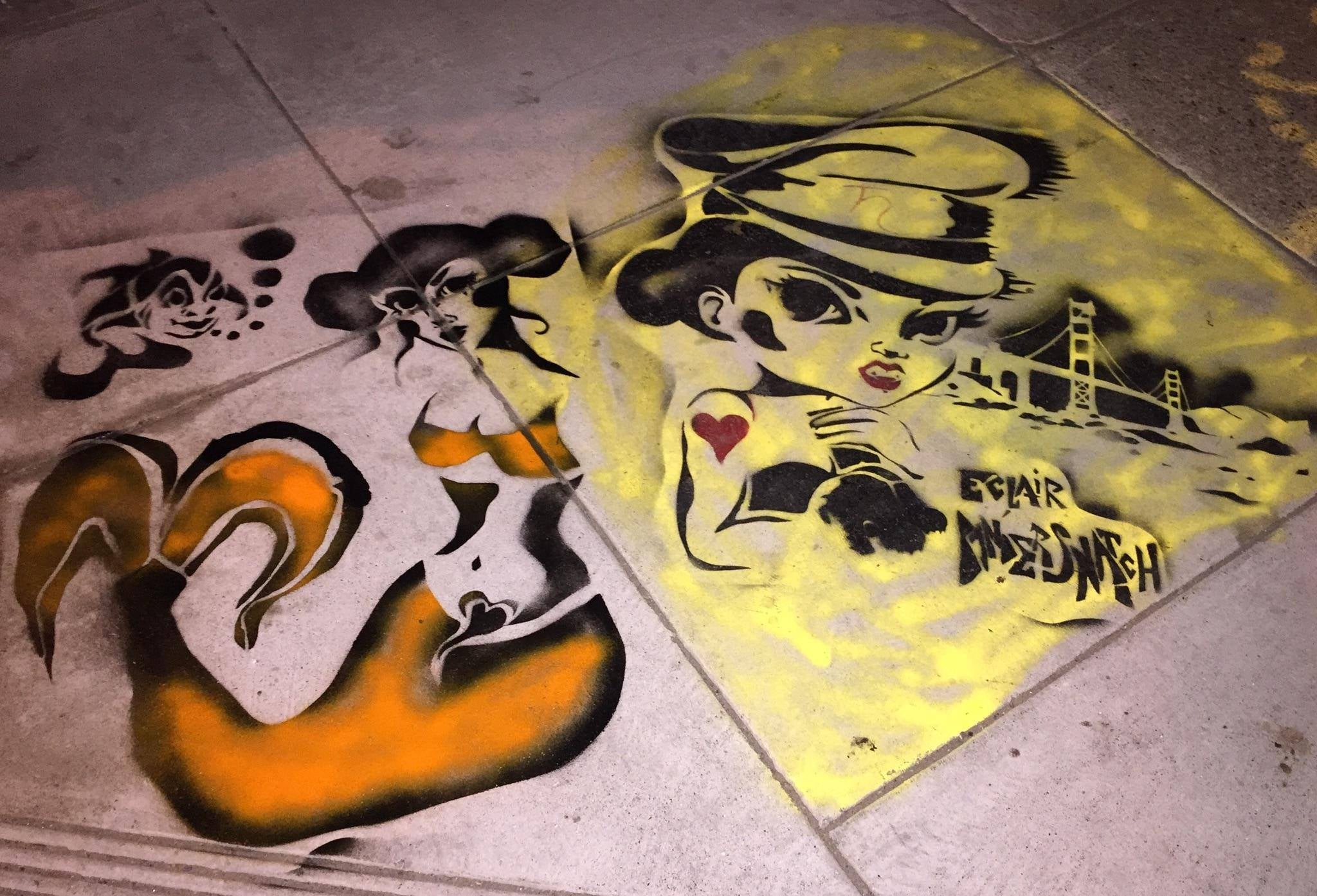 Eclair Bandersnatch: Street Artist for the Snowden Age
