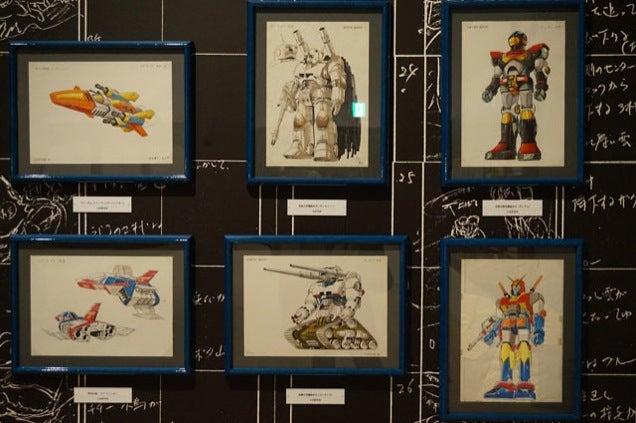 The Art of Gundam Shown in Tokyo