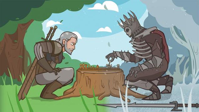 The Witcher 3 Fan Animation Sums Up The Game Pretty Well