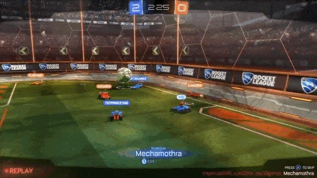 Scoring A Goal In Rocket League Feels So Damn Good