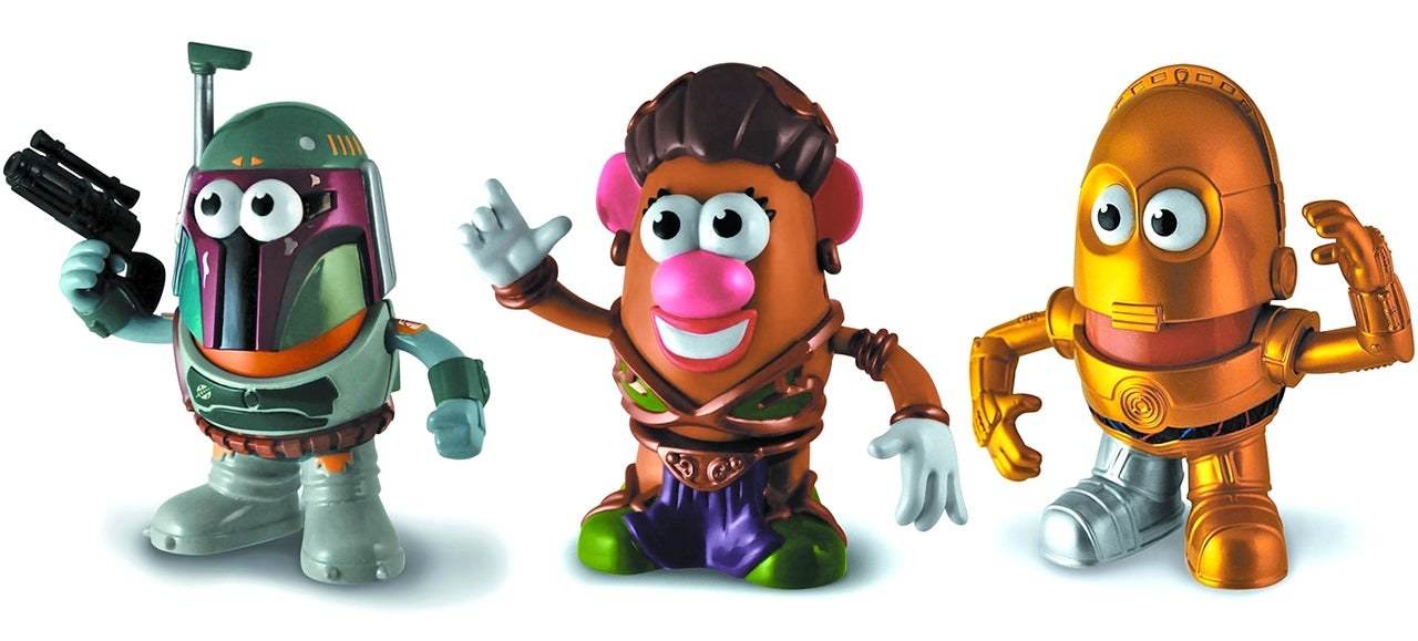 Seeing Princess Leia As a Mr. Potato Head Is a Little Unsettling