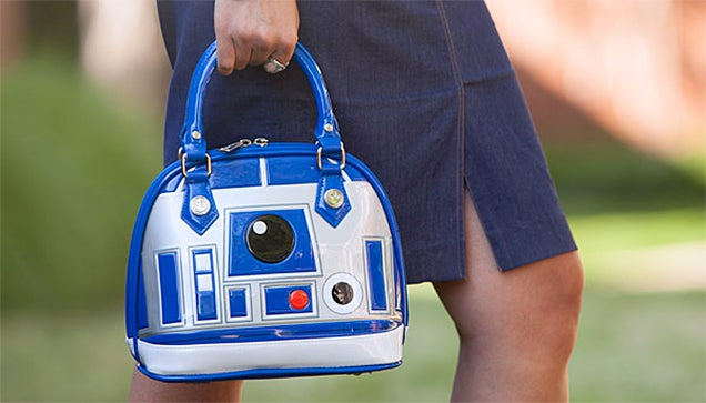 Carry Your Keys, Wallet, and Death Star Plans in This R2-D2 Handbag