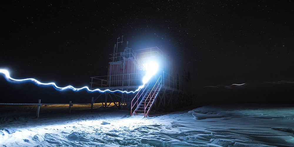 In the Antarctic, Scientific Freezers Like This Don't Need Refrigeration