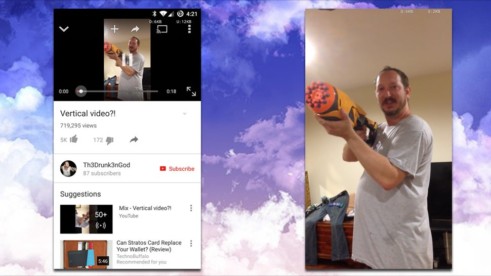 YouTube for Android Will Now Thankfully Display Vertical Videos Properly
