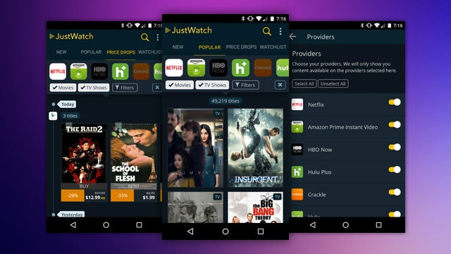 JustWatch Tracks New Streaming Content, Price Drops Across Many Services
