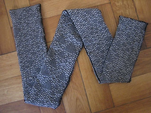 These Mathematical Scarves Are Designed By a Computer Algorithm