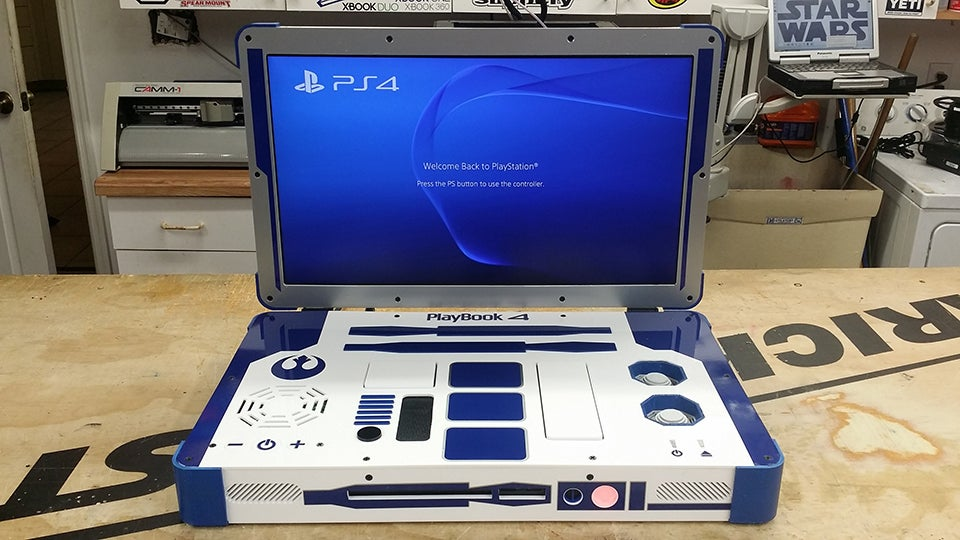 how to play a ps4 through a laptop