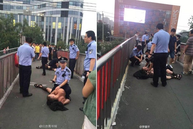 The Chinese Police Stop Spartans from 300