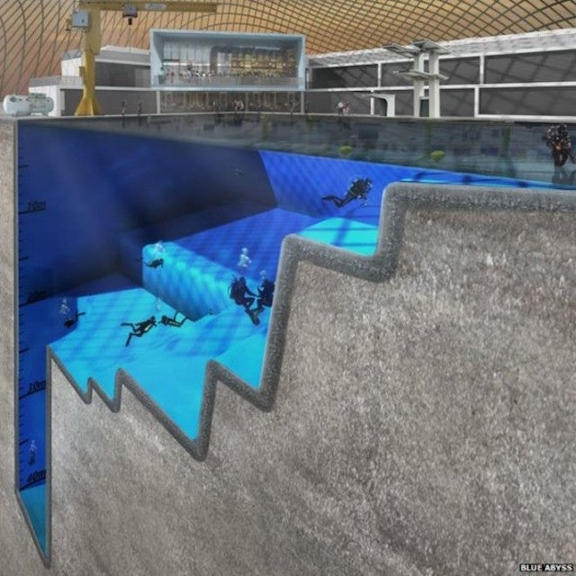 The World's Deepest Pool Would Help Train Astronauts