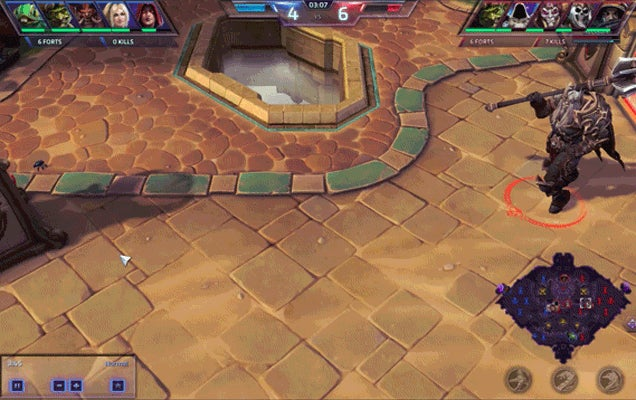 Heroes Of The Storm's New Skeleton Warrior Has A Great Strut