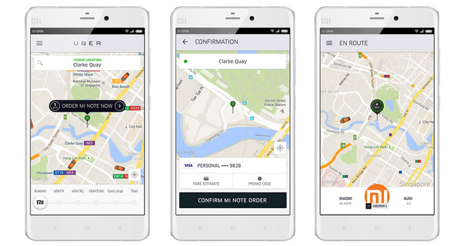 Xiaomi's Going to Start Uber-ing Smartphones to People