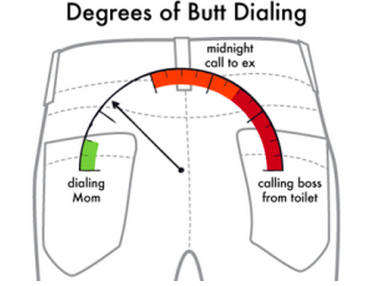 Have You Ever Had a Disastrous Butt-Dial?