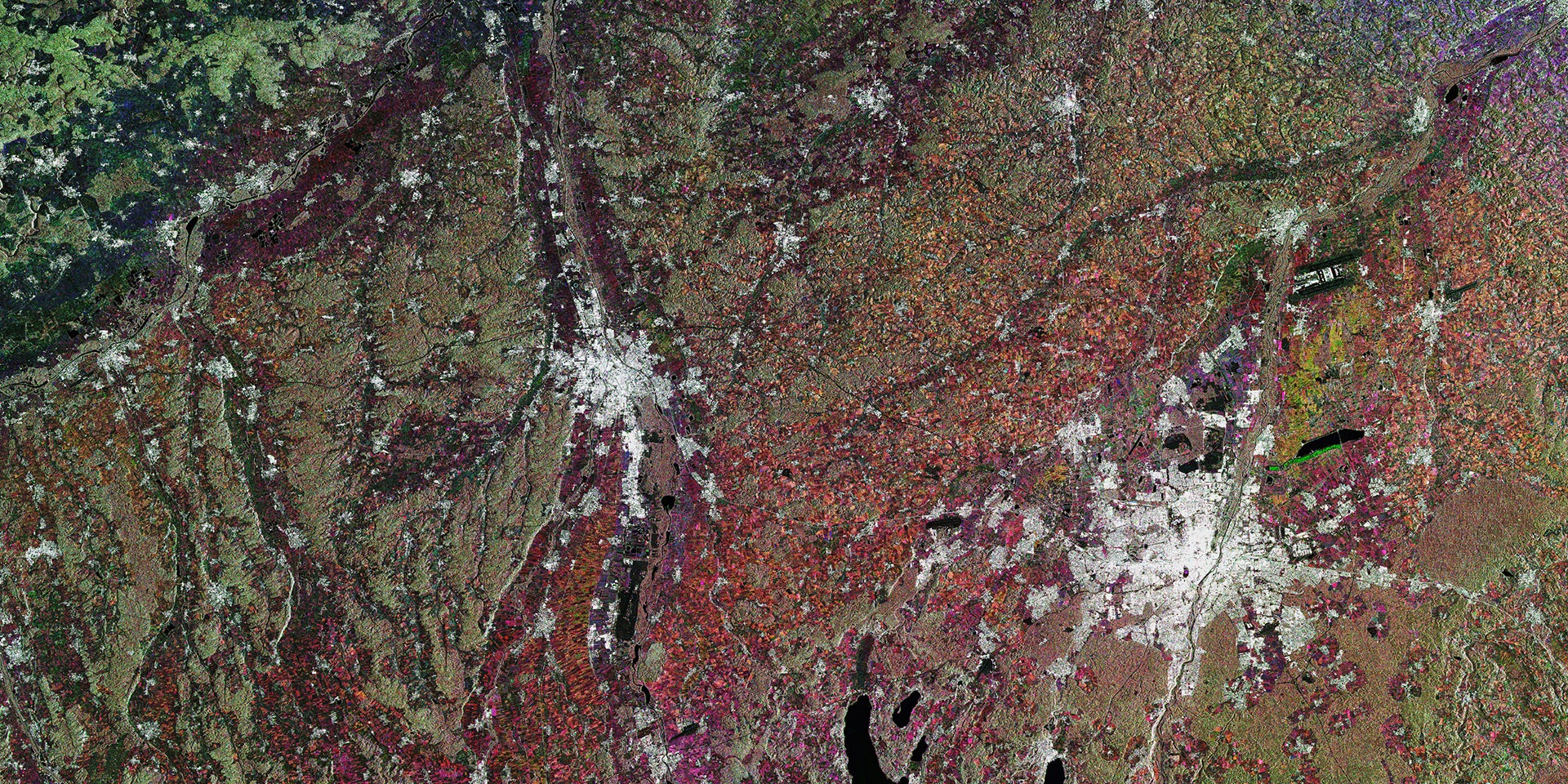 This Glorious Mess Is Actually Munich From Space