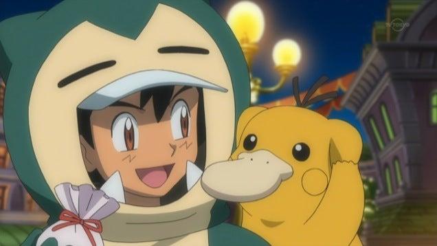 Pokémon Trainers Cosplaying as Pokémon