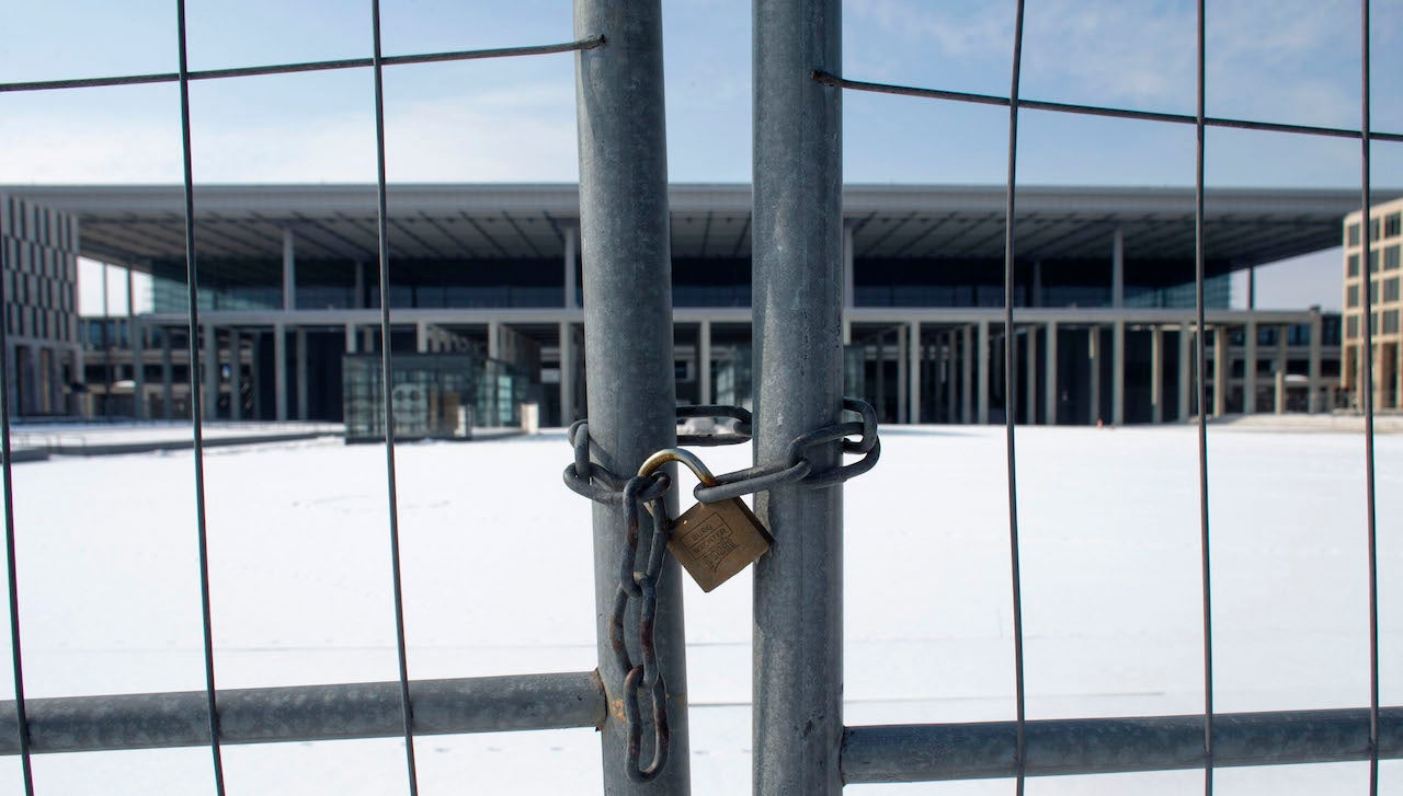 Berlin Spends $US16 Million A Month To Maintain This Never-Opened Airport