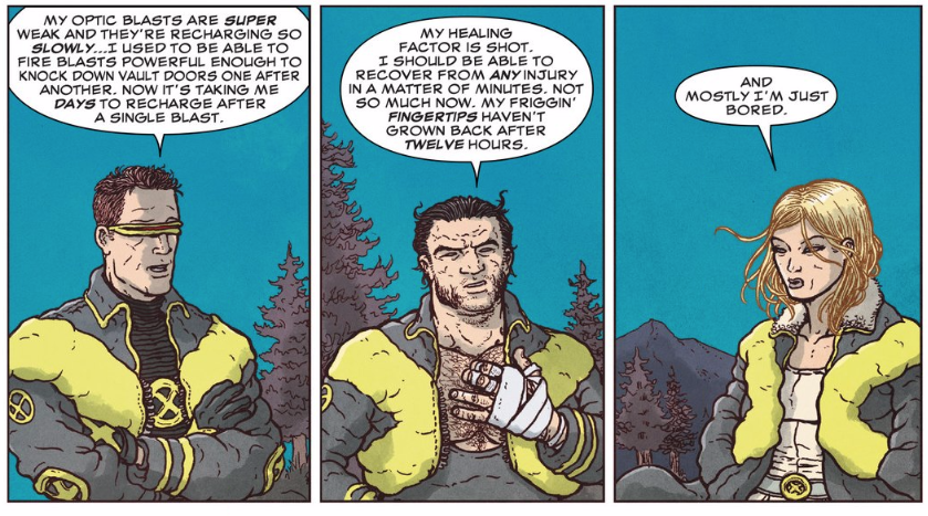 The X-Men Are Great As Old Farts