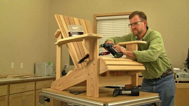 Build a Classic Adirondack Chair and Enjoy Lounging the Rest of Summer