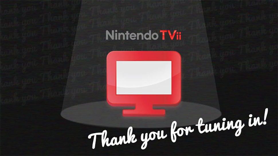 Nintendo's Shutting Down Wii U TVii Next Month