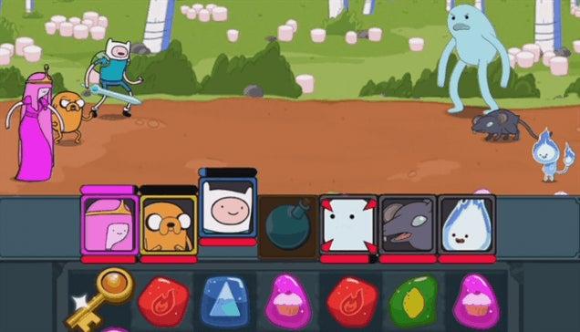 You've Lost Me, Adventure Time Puzzle Quest