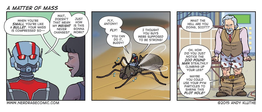 Sunday Comics: Crawling Up Your Leg