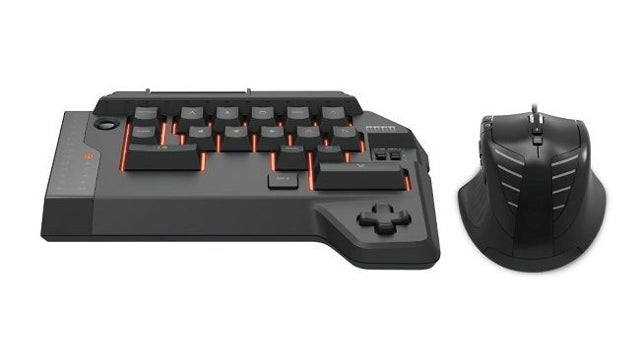 An FPS Keyboard and Mouse for the PlayStation 4