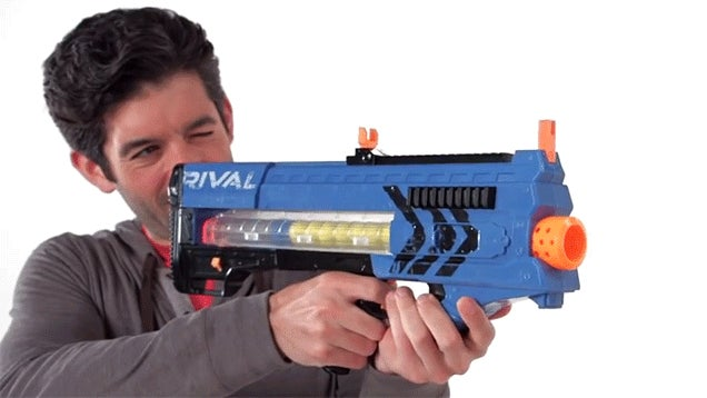Our First Look At Nerf's New 70 MPH Blasters In Action