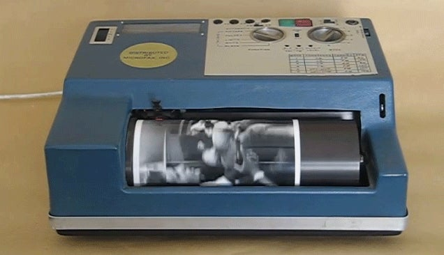 Before the Internet, This Archaic Machine Is How Photos Were Transmitted