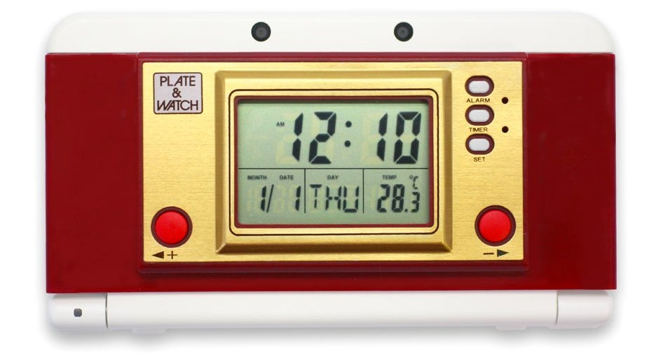 Turn Your New 3DS Into a Retro Game & Watch With This Faceplate