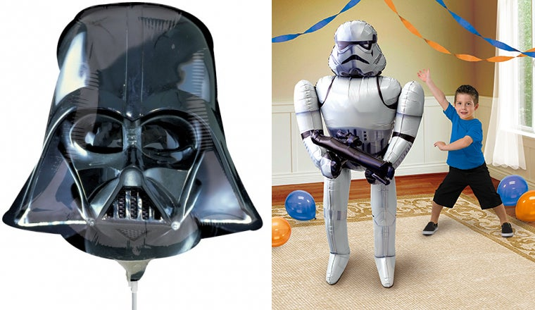 Fake a Birthday Every Day Just To Get These New Star Wars Balloons