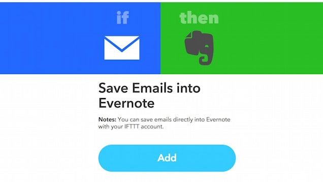 Get Evernote's Email To Evernote Feature Back For Free With IFTTT