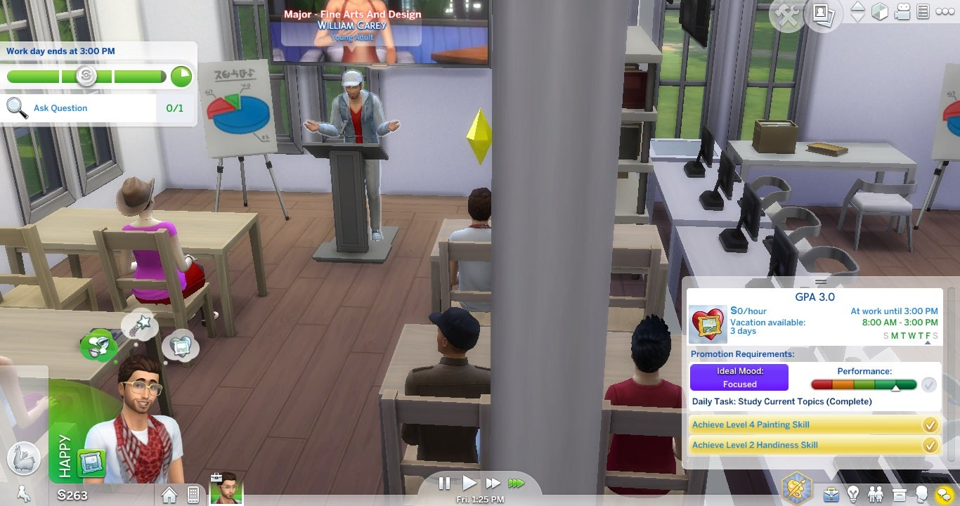 Mod Adds College System To The Sims 4