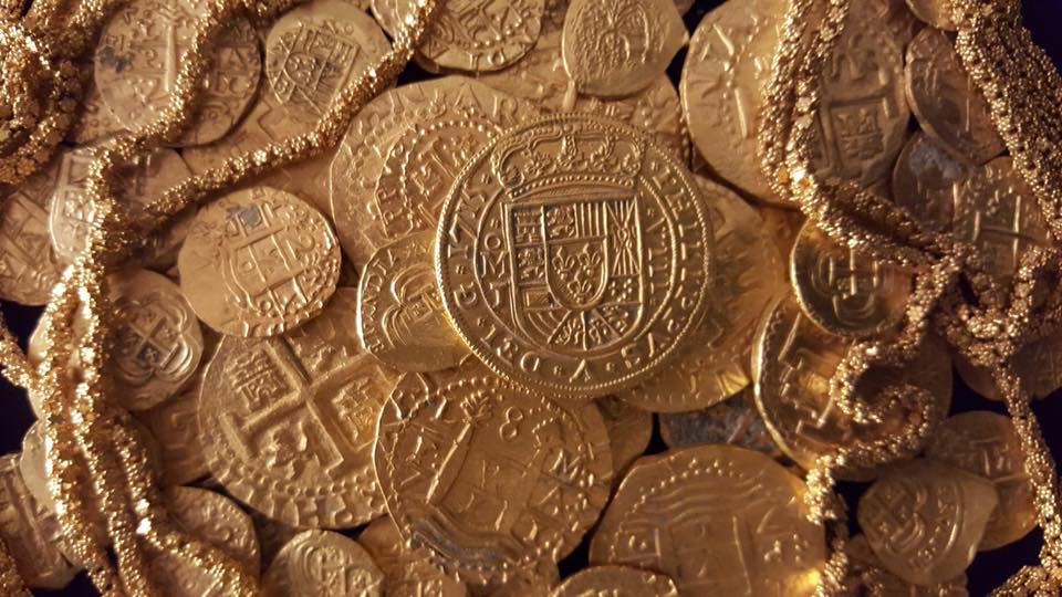 A Spanish Coin Worth $US500,000 Was Just Found In a Florida Shipwreck