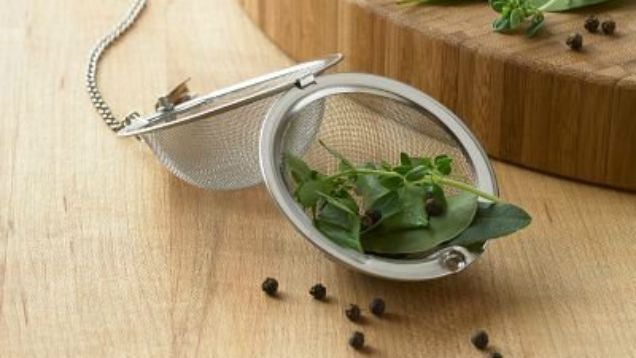Use A Tea Ball To Flavour Soups And Stocks