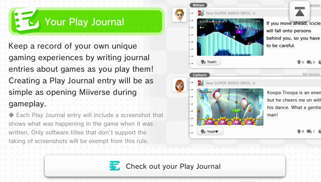 Miiverse Revamp Available Now