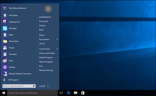 PSA: Start Menu Replacement Apps Still Work In Windows 10