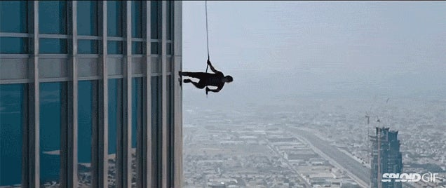 The most insane Tom Cruise stunts from the Mission Impossible movies