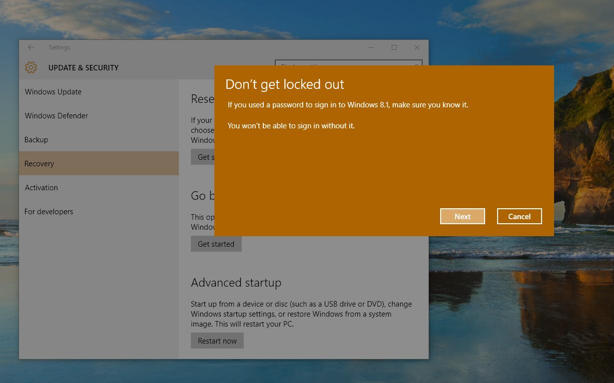 PSA: Windows 10 Isn't a Risk-Free Upgrade