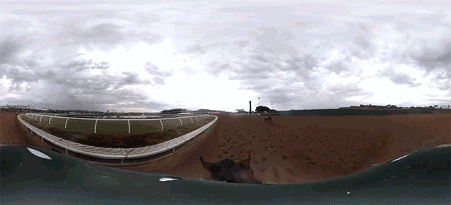 This 360-Degree GoPro Video Is Your Only Chance To Ride American Pharaoh